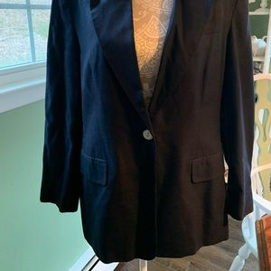 Talbots size 14P Navy blue jacket